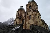 Poutní kostel Navštívení Panny Marie ve Skocích u Žlutic.