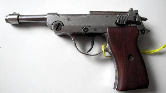 Vlastnoručně vyrobená pistole