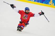 Paralympiáda, Soči: Česko - Itálie 3:0