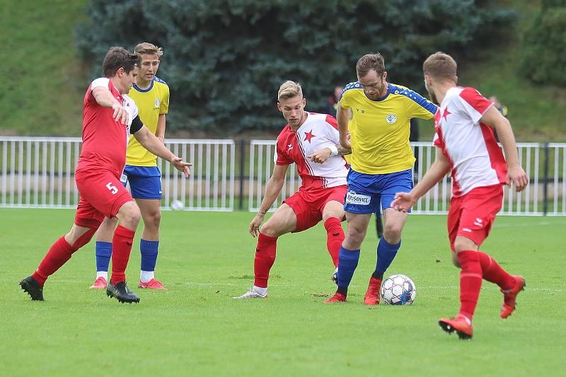 SK Rakovník - FC Slavia Karlovy Vary 4:2 (1:2).