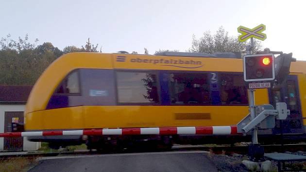 Vlaky mezi Německem a Českem opět jezdí.
