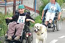 Závody,ve kterých se mohli prosadit i vozíčkáři.