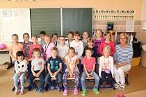 Žáci 1.A ze Základní školy Konečná