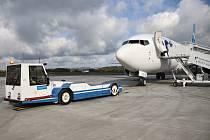 Počet odbavených cestujících se na karlovarském letišti v prvním pololetí snížil.