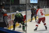 Ve čtvrtém kole Tipsport extraligy ochutnali karlovarští hokejisté letošní první porážku. V Olomouci prohráli těsně 3:2. Atmosféra při zápase byla výborná.