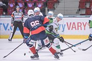 Utkání 1. kola play out Energie Karlovy Vary - Piráti Chomutov.