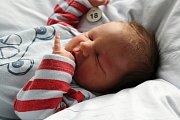 TOMÁŠEK KUFA se narodil 17. 10. 2016