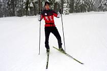 Jan Štros, lyžař LK Slovan Karlovy Vary