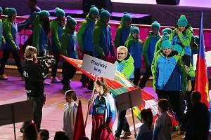 Olympiáda dětí a mládeže zahájení KV Aréna