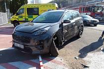 Nehoda v lokalitě zablokovala zcela provoz.