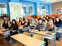 Na ostrovském gymnázium se na vysokou školu hlásí každý student.
