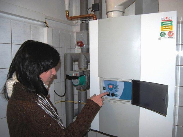 Lidé bedlivě sledují údaje na svých plynových kotlech. Zemní plyn je druhoým nejdražším palivem, kterým lze topit. Stále častěji tak přecházejí ke dřevu, i za cenu toho, že se zapotí.