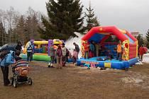 Festival zimních sportů v Abertamech.