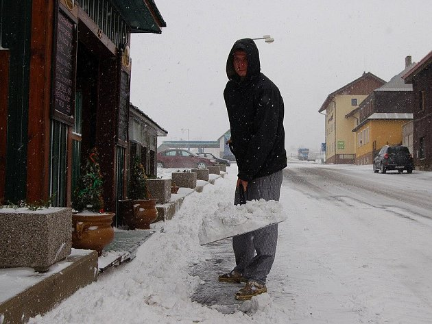 Návrat zimy na Karlovarsko