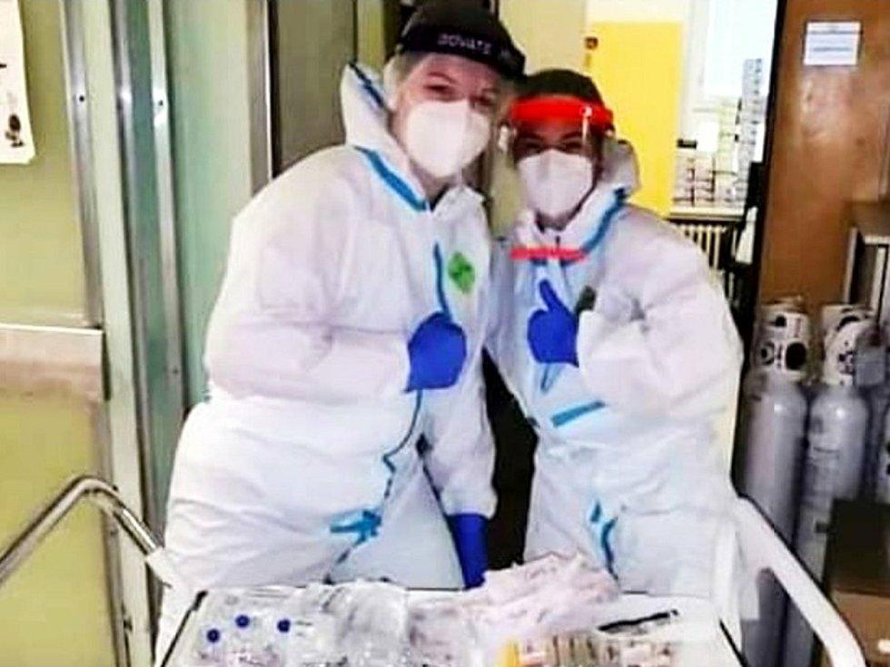 Nemocnice v Mariánských Lázních má s covid pozitivními pacienty zkušenosti už z první vlny.