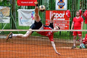Ilustrační foto: Do lázní  o víkendu zamíří nohejbalová česká špička, kterou čeká již 49. mistrovství ČR dvojic mužů.