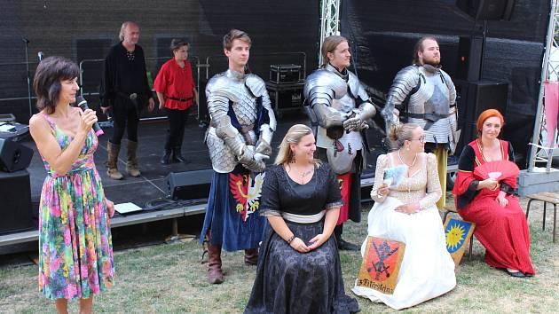 Historické slavnosti princezny Alvíny