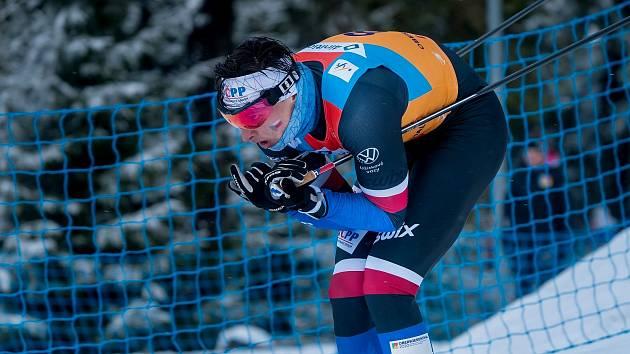 Ondřej Černý, reprezentant ČR v běhu na lyžích.