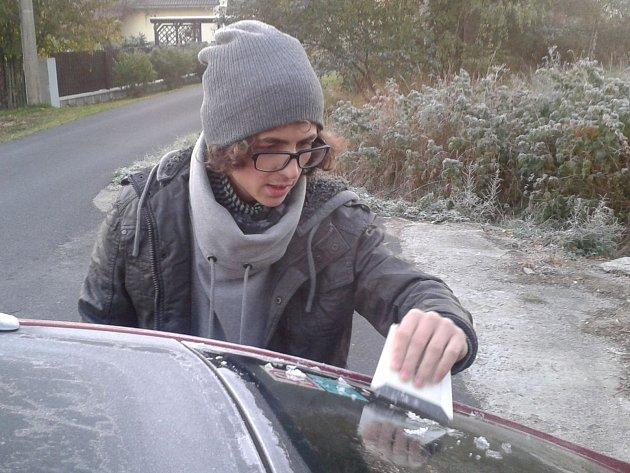 Rána v regionu byla v posledních dnech mrazivá.