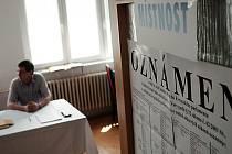 Pro volební komise nebyly eurovolby příliš záživné. Lidí přišlo v regionu velmi málo.