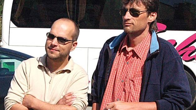 Radní Václav Tomášek (vlevo)