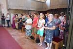 Kostel Svatého Jakuba v Ostrově se dočkal znovu vysvěcení. Slavnostního ceremoniálu se ujal plzeňský biskup Tomáš Holub.