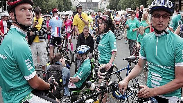 Blíží se cyklo-maraton zdravých i handicapovaných cyklistů Cesta za snem