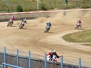 Kvalifikační závody na dlouhé ploché dráze v Mariánských Lázních.