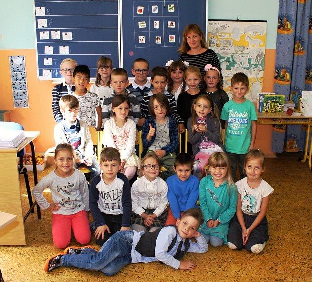 Žáci 1.B Základní školy Dukelských hrdinů, Karlovy Vary