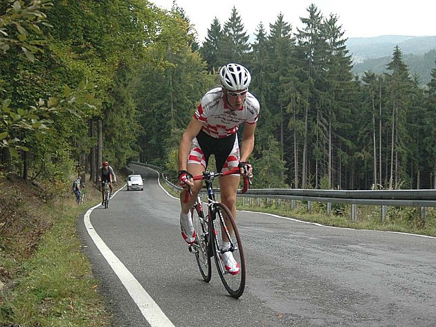 K favoritům zítřejší časovky bude jistě patřit už pětinásobný vítěz tohoto závodu, Ladislav Fabišovský.