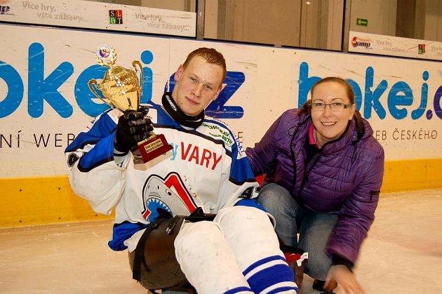 Jiří Forgo - nejlepší střelec sledge hokejové ligy
