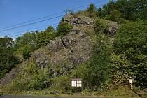 Vojkovická skála je morfologicky výrazný granulitový suk nedaleko obce Vojkovice.