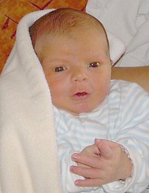 Pavlík Budai z Ostrova se narodil 9. 8. 2011