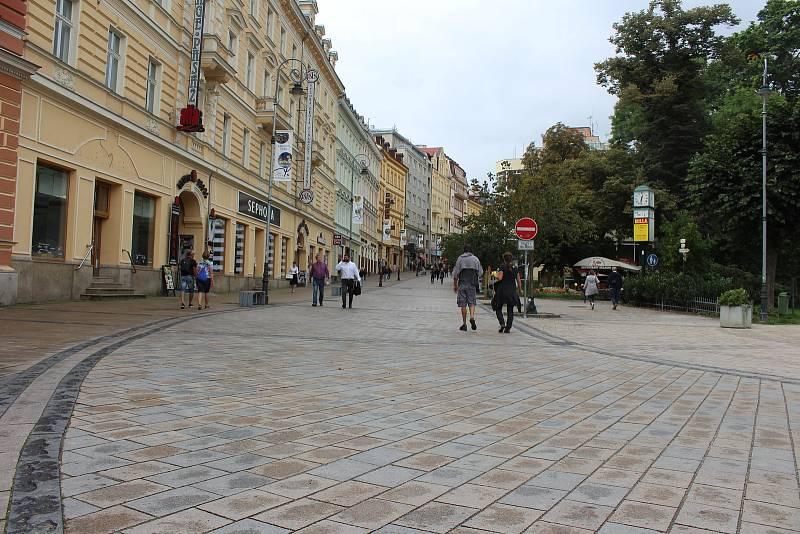 Pěší zóna T. G. Masaryka.