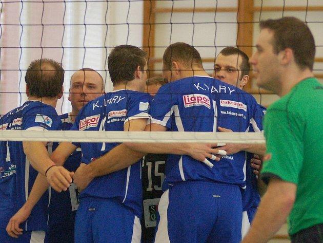 Volejbalisté VK Karlovy Vary by rádi udrželi druhou ligu i pro příští rok.