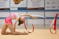 II. ročník Carlsbad RG Cupu: Moderní gymnastky Slavie braly tři medaile.