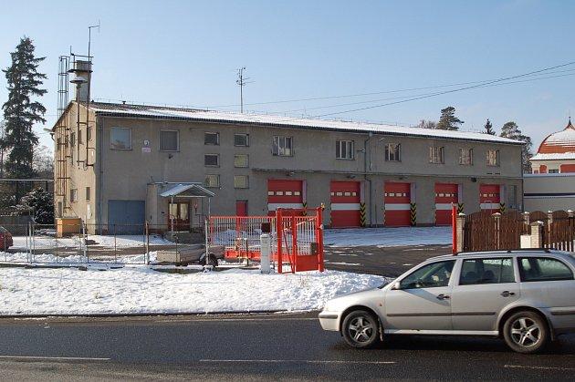 Hasičárna dobrovolných hasičů