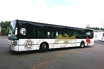 Festivalový autobus, který bude jezdit mezi Karlovými Vary a Kyselkou.