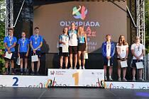 Triatlonová paráda. Na Letní olympiádu dětí a mládeže zamířilo sourozenecké duo Lukáš a Heidi Juránkovi v pozici favoritů. Své postavení talentovaní závodníci v trikotech X-Tem Bano potvrdili. Doslova. Nejenže ovládli své kategorie, ale k tomu pak přidali