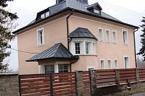 Dům, kde byl objevena zabetonovaná oběť vraždy.