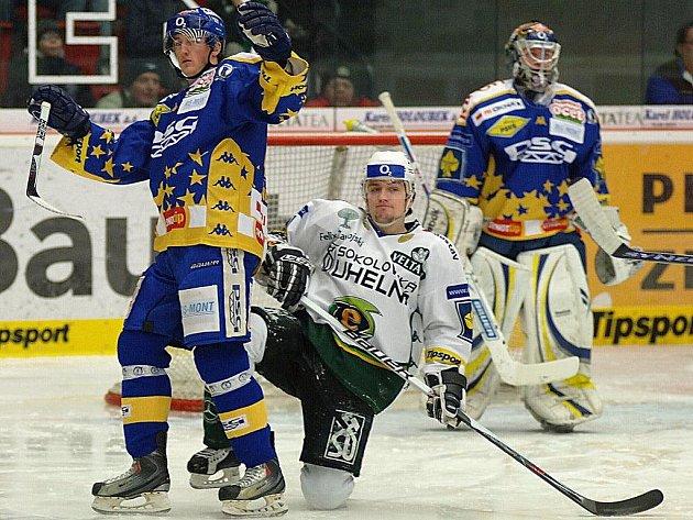 Karlovy Vary – Zlín, 44. kolo hokejové extraligy.