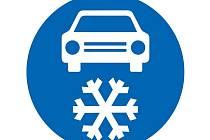 Značka C15 a: Povinná zimní výbava.