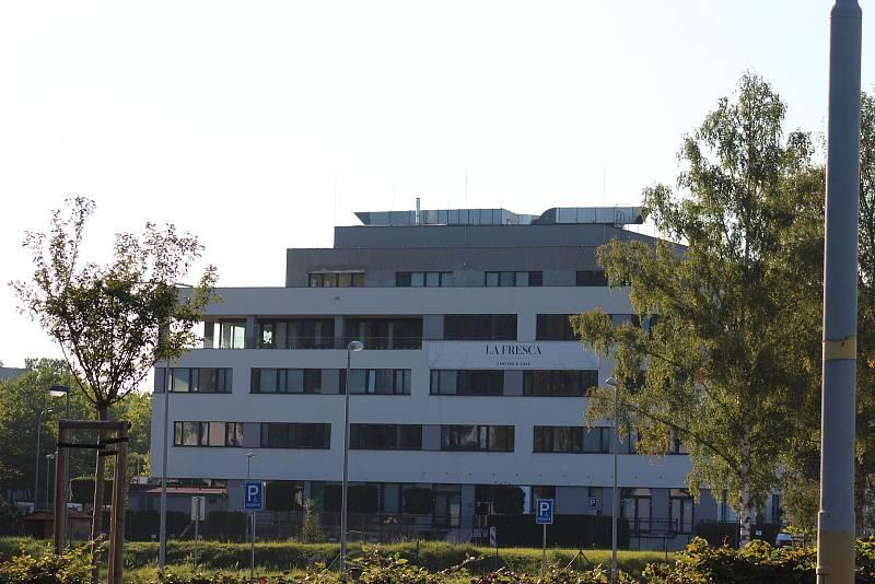 Areál krajského úřadu.