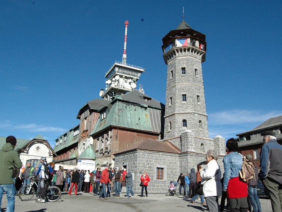 Historická rozhledna na Klínovci