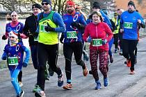 Novoroční běh na Svatošské skály tradičně zahájil novou běžeckou sezonu běžců Karlovarského kraje. Celkem se postavilo v Doubí v první lednový den na start prvního závodu roku 2020 sto dvacet běžců.