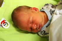 Alexandr Hlubuček z Karlových Varů se narodil 18. prosince.