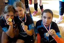 V Sokolově se 27. října konalo další kolo turnaje v dívčím barevným volejbalu.