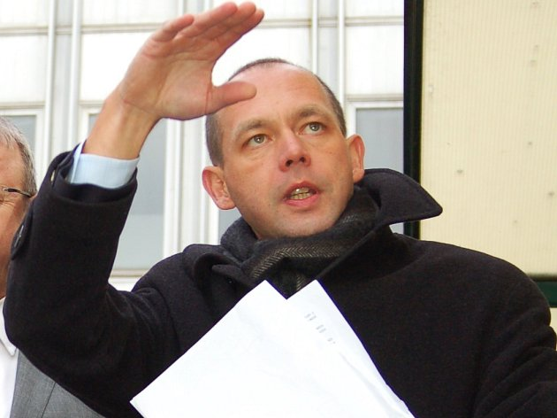 Karlovarský primátor Petr Kulhánek.