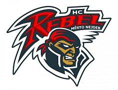 Logo HC Rebel Město Nejdek.