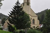 Kostel v Jáchymově.